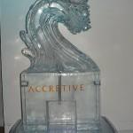 Accretive 2007-ice sculpture